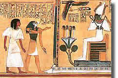 Pagan Origins of the Christ Myth > Pagan Origins > eternal ...  Judgement Before Osiris